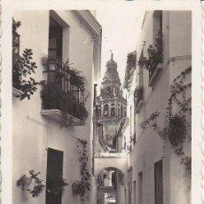 Postales: PS1279 CÓRDOBA 'VISTA DE LA CALLEJA DE LAS FLORES'. EDICIONES ARRIBAS Nº 117. CIRCULADA EN 1955. Lote 13692349