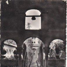 Postales: PS1947 GRANADA 'GENERALIFE: PATIO DE LA ACEQUIA'. HELIOTIPIA ARTÍSTICA ESPAÑOLA. CIRCULADA EN 1955. Lote 13692378