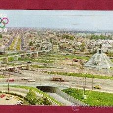 Postales: MAGNÍFICA POSTAL - CIRCULADA - 119 MONUMENTO A LA RAZA - SIMBOLO OLIMPIADAS MEXICO 1968. Lote 14056745