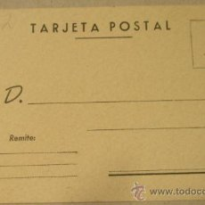 Postales: TARGETA POSTAL. Lote 14771190