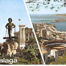 Postales: POSTAL DE MALAGA , MIDE 15X 10,5 CM.. Lote 15004012