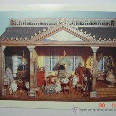 Postales: 2070 PRECIOSA POSTAL DE CASA DE MUÑECAS MUSEO LANDSBERG LECH ALEMANIA - MAS EN MI TIENDA C&C. Lote 16154554