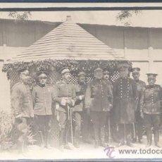 Postales: ABRIL 1920.-FOTOGRAFÍA DE OFICIALES DEL CUERPO DE INGENIEROS EN CUATRO VIENTOS. Lote 16413213