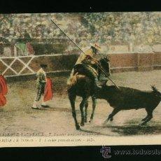 Postales: POSTAL ANTIGUA AÑOS 20 - TEMA TAURINO - TOROS. Lote 17156372