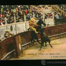Postales: POSTAL ANTIGUA AÑOS 20 - TEMA TAURINO - TOROS. Lote 17156378