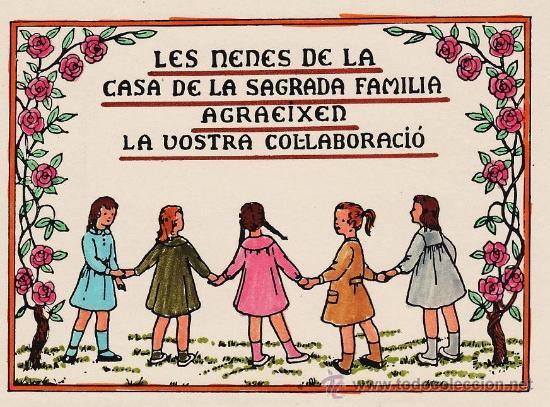 tarjeta postal de agradecimiento de colaboracio comprar en