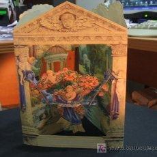 Postales: PRECIOSA TARJETA - (TIPO GUIÑOL) - SWING CARD -. Lote 27123894