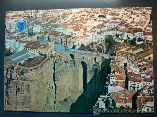 4308 espa a andalucia malaga ronda puente vista comprar postales de andaluc a en todocoleccion - Fotografia aerea malaga ...