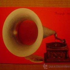 Postales: POSTAL FONOGRAFO 1920 SIN CIRCULAR . Lote 21295774