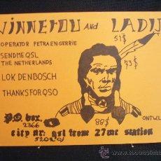 Postales: TARJETA DE RADIOAFICIONADO HOLANDA. Lote 21373766