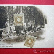 Postales: 8 POSTALES ANTIGUAS ORIGINALES (14 X 9 CM) - DE LA COLECCIÓN CÁNOVAS - SERIE C. Lote 21566972