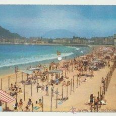 Postales: FONOSCOPE. SAN SEBASTIAN. POSTAL- DISCO. 1959.. Lote 22085398