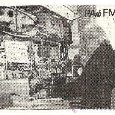 Postales: TARJETA POSTAL DE RADIO AFICIONADO: AMSTERDAM (HOLANDA). Lote 23127450