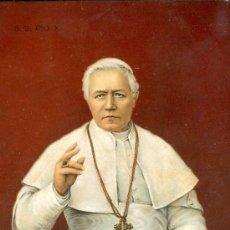 Postales: PAPA PIO X. POSTAL COLOR ALEMANA, C. 1915. Lote 23756025