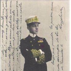 Postales: PS3228 POSTAL FOTOGRÁFICA Y COLOREADA DE ALFONSO XIII. VALENTÍN FOTO. 1905. Lote 107435063