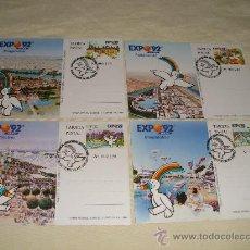 Postales: JUEGO DE TARJETAS POSTALES . Lote 24297581