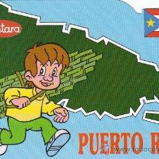 Postales: PUERTO RICO, EDITADA POR COMITÉ 5º CENTENARIO DEL DESCUBRIMIENTO D AMERICA Y TVE, REGALO DE CUETARA. Lote 24501114