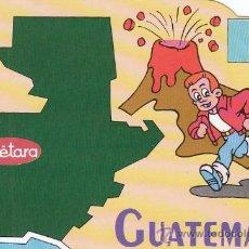 Postales: GUATEMALA, EDITADA POR COMITÉ 5º CENTENARIO DEL DESCUBRIMIENTO D AMERICA Y TVE, REGALO DE CUETARA. Lote 24501170