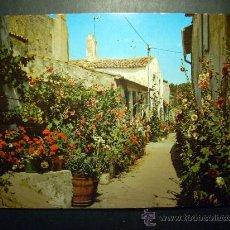 Postales: 93 FLOWERS RUELLE FLEURIE DE L´LLE CALLE DE FLORES POSTCARD AÑOS 60/70 ESCRITA - TENGO MAS POSTALES. Lote 25480849
