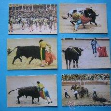 Postales: LOTE DE 6 POSTALES DISTINTAS DE TOROS. Lote 26354907