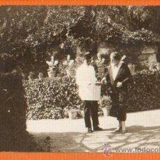 Postales: POSTAL FOTOGRAFICA ORIGINAL ESCENA SEÑORA CONDESA DE RUISEÑADA. Lote 26701163