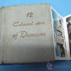 Postales: LIBRITO ANTIGUO DE POSTALES ANTIGUAS DE DAMASCUS POSTAL ANTIGUA. Lote 27588470