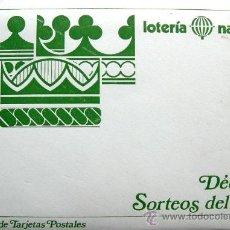 Postales: 12 TARJETAS POSTALES - NUEVOS REFRANES - SERIE K - E. DE LARA. Lote 27881974