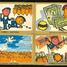 Postales: LOTE DE 12 POSTALES. LOTERIA NACIONAL 1977. . Lote 28034020