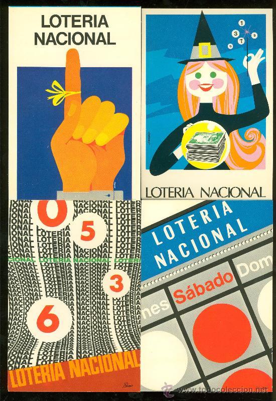 LOTE DE 12 POSTALES. LOTERIA NACIONAL 1978. (Postales - Varios)