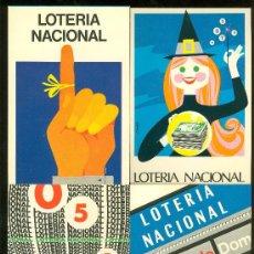 Postales: LOTE DE 12 POSTALES. LOTERIA NACIONAL 1978. . Lote 28034029