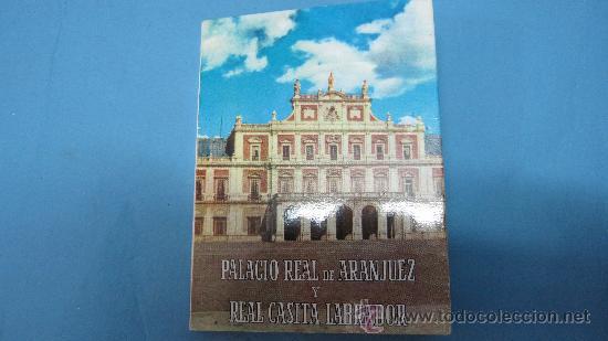 LOTE POSTALES ACORDEON PALACIO REAL DE ARANJUEZ (Postales - Varios)