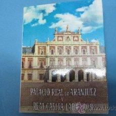 Postales: LOTE POSTALES ACORDEON PALACIO REAL DE ARANJUEZ. Lote 28072931