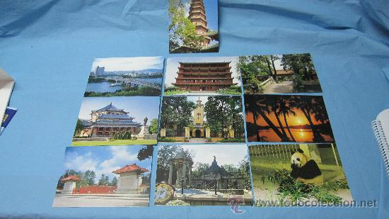 Postales: LOTE DE POSTALES SUZHOU-THE GARDEN CITY-GUANGZHOU-CITY OF GUANGDONG - Foto 2 - 28073348