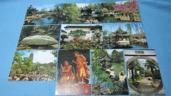 Postales: LOTE DE POSTALES SUZHOU-THE GARDEN CITY-GUANGZHOU-CITY OF GUANGDONG - Foto 4 - 28073348