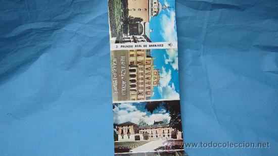 Postales: LOTE POSTALES ACORDEON PALACIO REAL DE ARANJUEZ - Foto 2 - 28072931