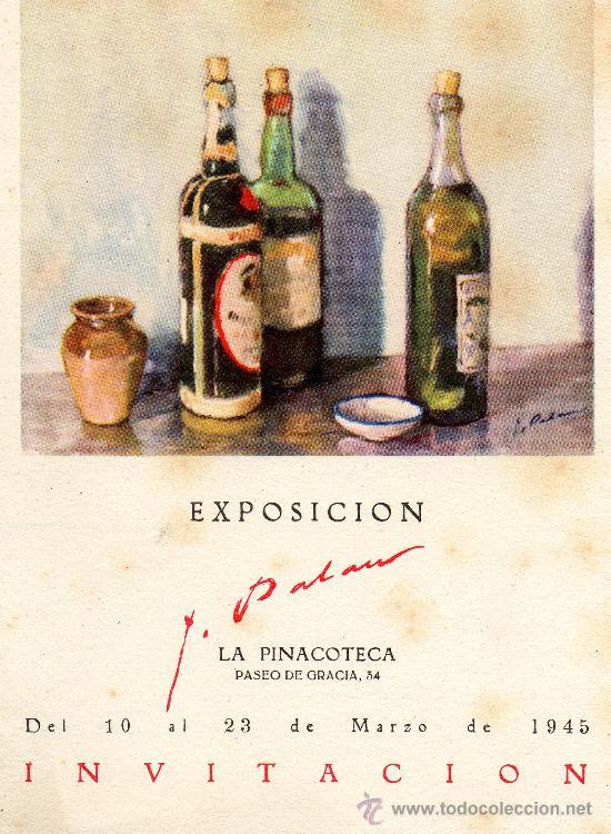 EXPOSICIÓN PASEO DE GRACIA 1945 (Postales - Varios)