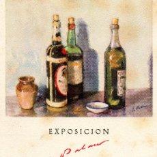Postales: EXPOSICIÓN PASEO DE GRACIA 1945. Lote 28273606