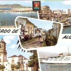 Postales: TARJETA POSTAL. CADIZ. ALGECIRAS. GIBRALTAR DESDE EL MIRADOR. Nº 13. A. SUBIRATS CASANOVAS.. Lote 28626018