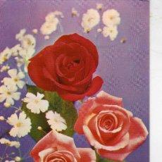 Postales: POSTALES FLORES ESCRITA SIN CIRCULAR CYZ 6046-B. Lote 28946386