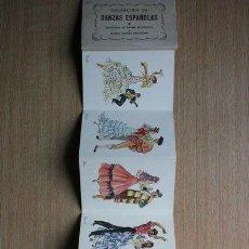 Postales: POSTALES. COLECCIÓN DE DANZAS ESPAÑOLAS. SERIE DE 9 POSTALES. . Lote 28955108