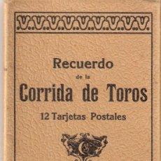 Postales: TOROS - BLOCK TIPO ACORDEON COMPLETO 12 POSTALES- VER FOTOS ADICIONALES - (B-90) . Lote 29135619