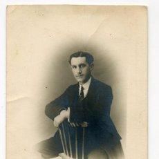 Postales: TARJETA POSTAL CON FOTO FECHADA EN 1914 - FOTOGRAFOS ESCUDERO Y ARENAL - C/ PRECIADOS - MADRID. Lote 30413866
