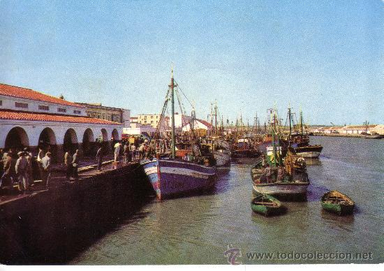Cadiz puerto de santa maria muelle pesquero comprar postales de andaluc a en todocoleccion - Tren el puerto de santa maria madrid ...