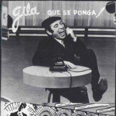 Postales: ACTUACION DE GILA EN MÉXICO D.F. CUANDO NO PODÍA ACTUAR EN ESPAÑA EN LOS AÑOS 60-. Lote 30870229