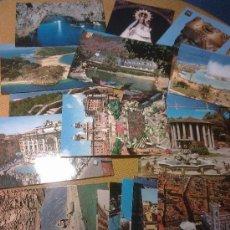 Postales: LOTE POSTALES VARIADAS 70 UNIDADES. Lote 31076977