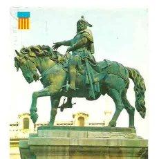 Cartes Postales: MONUMENTO AL REY DON JAIME EL CONQUISTADOR - COLECCIÓN VALENCIA - 737 - ESCRITA Y CIRCULADA. Lote 31687362