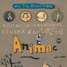 Postales: POSTAL MOSTRA INTERNACIONAL CINEMA D´ANIMACIO (CINE DE ANIMACION) ANIMAC 99 -LLEIDA. Lote 32074567