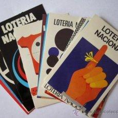 Postales: LOTERIA NACIONAL 12 POSTALES SERIE IA. CARTELES. Lote 32267186