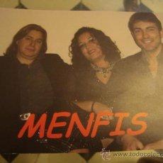 Postales: FOTO POSTAL MENFIS GRUPO MUSICAL. Lote 32628068