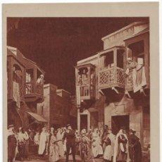 Postales: OBRA TEATRO. THE GARDEN OF ALLAH. Lote 32600650